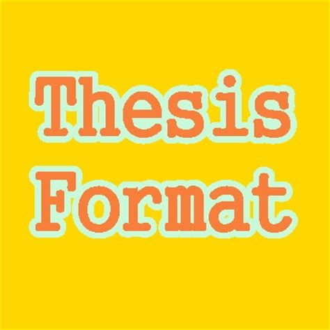 Page Numbering for Thesis or Dissertation